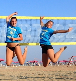 Plážový volejbal Lignano