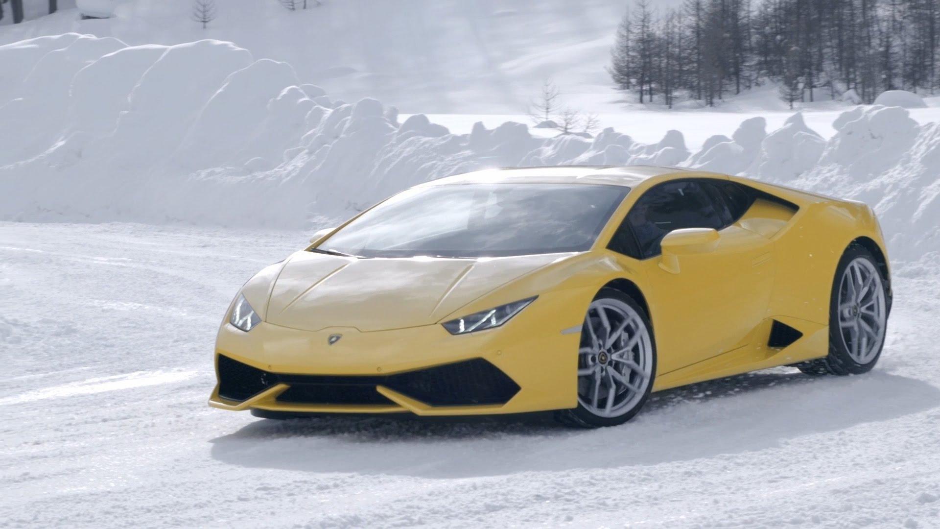 Lamborghini v Livignu