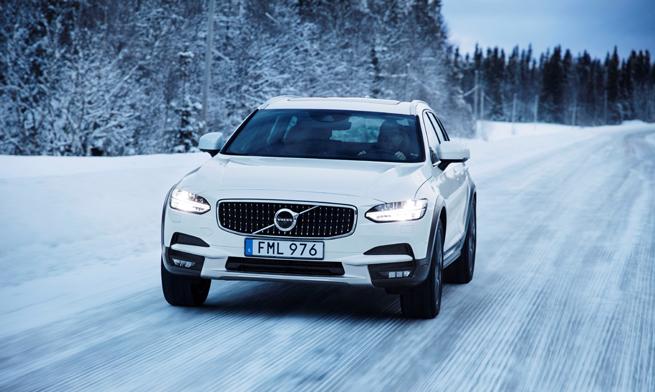 Volvo winter tour