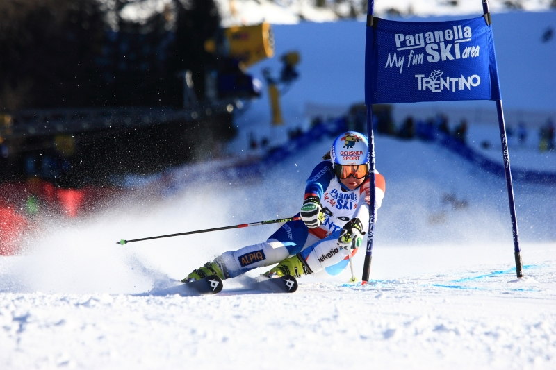 Paganella - evropský pohár v obřím slalomu žen