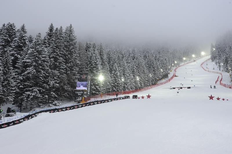 Noční lyžování Paganella
