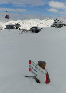 Zima je tu - Passo Tonale - ledovec Presena