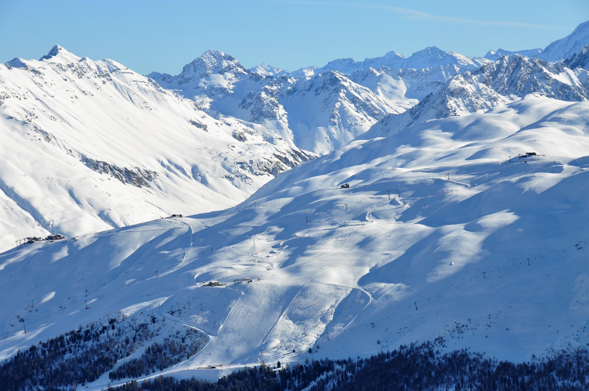 Otevření lyžařského střediska Livigno