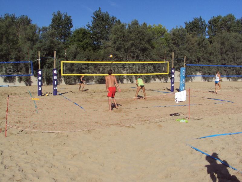 Lignano - plážový volejbal
