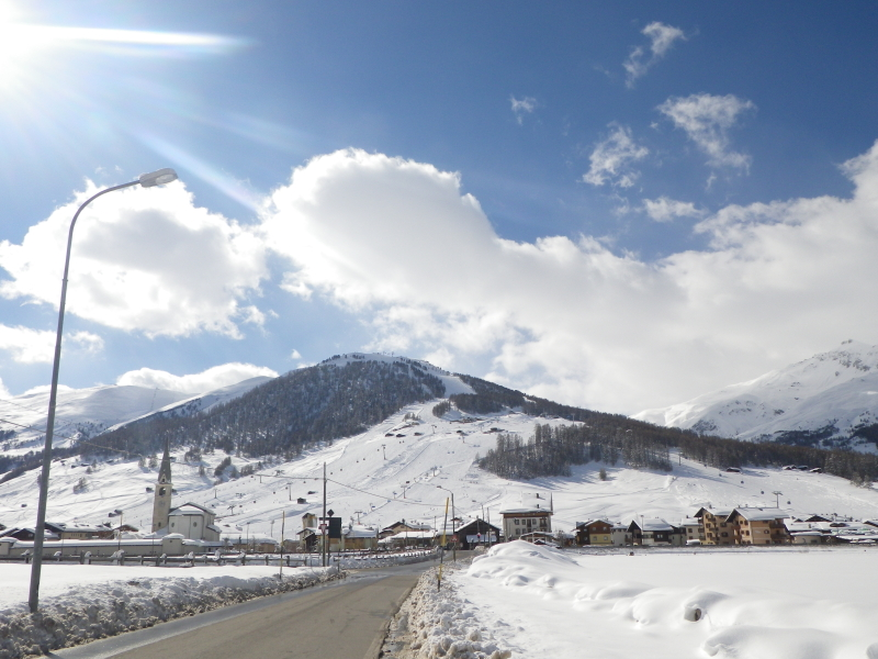 Livigno - březen 2014
