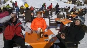 Slunečný týden v Livignu  - únor 2015