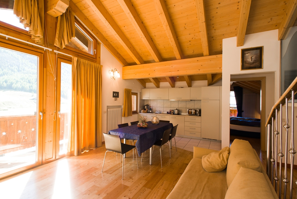 Livigno - apartmán Ninfee
