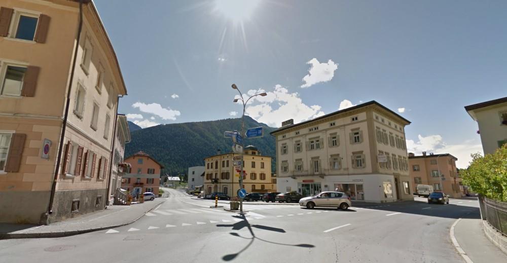 Příjezd do Livigna