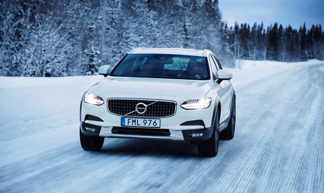 Volvo winter tour
