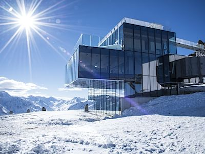 Rakousko - restaurace ice-Q