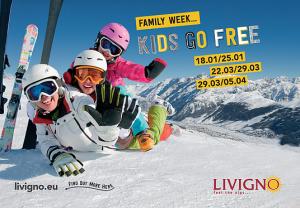 Livigno - děti do 12 let lyžují zdarma